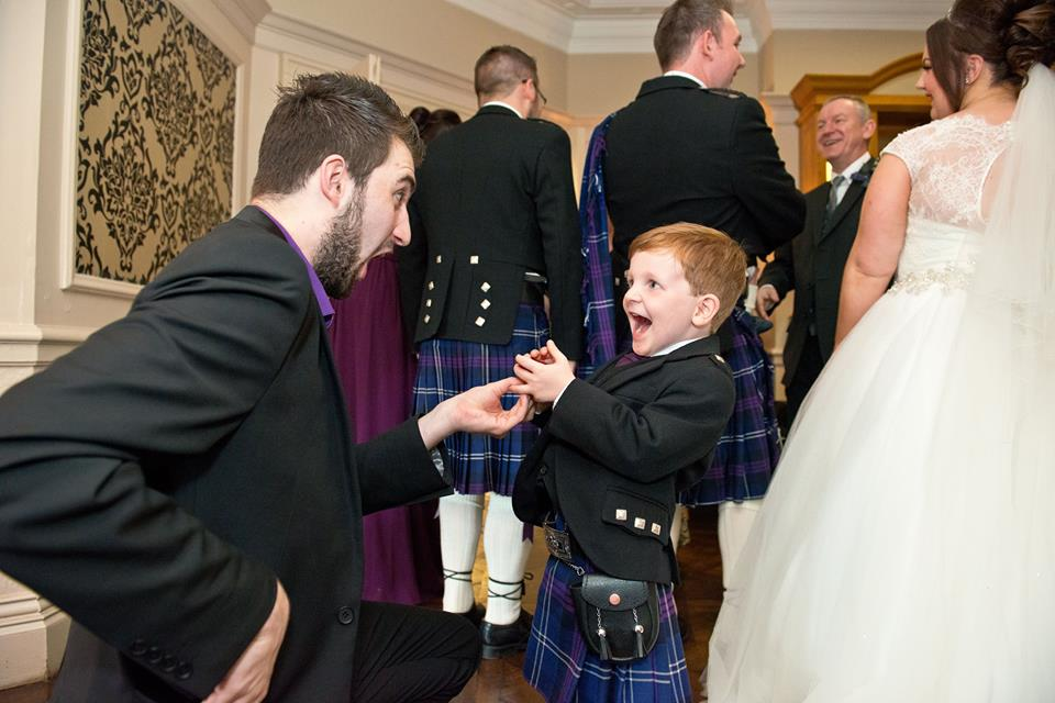 Wedding Magician Edinburgh Elliot Bibby