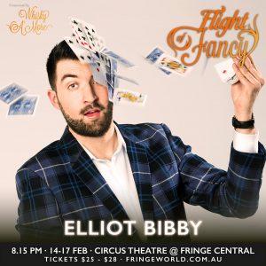 Flight Of Fancy Image of Elliot Bibby at Fringe World