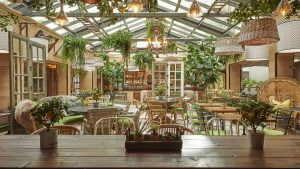 The Garden Room at the Kimpton Charlotte Square Hotel