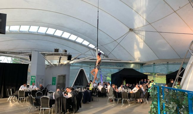 Dynamic Earth Aerial Act